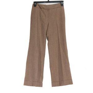 LOFT Ann Taylor Laura Women's Brown Wool Pants